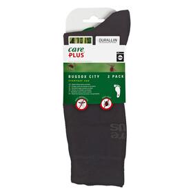 CarePlus Bugsox Traveller - Chaussettes - 2 paires noir